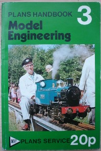 Model & Allied Publications. 'Plans Handbook 3: Model Engineering', published in 1974 in paperback, 96pp, essentially as a guide or catalogue to all the model engineering plans published by MAP, with prices. Conditon: Good++ clean & tidy copy. In stock, click to buy for �7.25, not including p&p