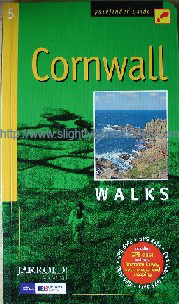 Brooks, John; and Viccars, Sue (Compilers). 'Pathfinder Guide: Cornwall Walks', publiished in 2008 in Great Britain by Jarrold Publishing, 96pp, ISBN 9780711749818. Sorry, sold out, but click image to access prebuilt search for this title on Amazon