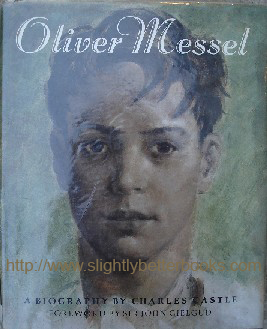 Castle, Charles. 'Oliver Messel: A Biography By Charles Castle', published in hardback in 1986 by Thames & Hudson, 264pp, ISBN 0500234345. Sorry, sold out, but click image to access prebuilt search for this title on Amazon UK