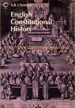Chrimes, S.B. 'English Constitutional History', published in 1978 in paperback by OPUS (Oxford University Press), 148pp, ISBN 0198880162. Condition: Good, clean & tidy copy with mild tanning to internal pages & cover. Price: £4.25, not including p&p, which is Amazon's standard charge (currently £2.57 for UK buyers, more for overseas customers)