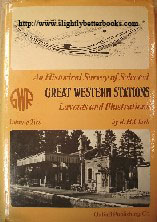 Clark, R. H. 'An Historical Survey of Selected Great Western Stations: Layouts and Illustrations. Volume Two' first published in 1979 in Great Britain by OPC (Oxford Publishing Company), in hardback with dustjacket, 204pp, ISBN 0860930157. Sorry, sold out, but click image to access prebuilt search for this title on Amazon UK