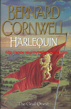 "Cornwell, Bernard. ""Harlequin"", 1st Edition, published in 2000 in hbk, 372pp, ISBN 0002259656. Condition: very good, well looked-after with very good dustjacket (with creasing on the top edge). Price: £8.20, not including post and packing, which is Amazon's standard charge (currently £2.80 for UK buyers, more for overseas customers)"