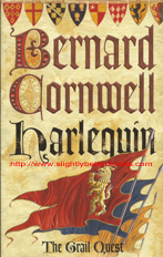"Cornwell, Bernard. ""Harlequin"", published in 2001 by HarperCollinsPublishers, 485pp, ISBN 0006513840. Condition: very good, well looked after. Price: £2.99, not including post and packing, which is Amazon's standard charge (currently £2.80 for UK buyers, more for overseas customers)"