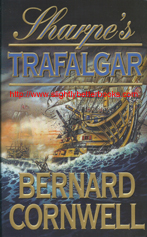 "Cornwell, Bernard. ""Sharpe's Trafalgar. Richard Sharpe and the Battle of Trafalgar, 21 October 1805,"" published in 2000 in Great Britain by HarperCollins in paperback, 372pp, ISBN 0006513093. Condition: very good, well looked-after copy. Has some very light reading creases down the spine (hardly noticeable). Price: £2.20, not including post and packing, which is £3.25 (more for overseas customers)"