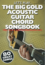 "Crispin, Nick. ""The Big Gold Acoustic Guitar Chord Songbook (Let's Play)"", published in 2001 in Malta by Wise Publications, 192pp, ISBN 9781847728777. Condition: very good, clean & tidy copy, well looked-after. Has a small stain on the bottom edge of the book at the bottom of the spine (does not affect the internal pages) and the tip of the bottom left corner of the back cover is missing. Price: �7.20, not including post and packing, which is �2.00 for UK buyers (more for overseas customers)"