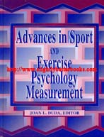 Duda, Joan L. (ed.). 'Advances in Sport and Exercise Psychology Measurement', published in 1998 in the United States in hardback by Fitness Information Technology, 520pp, ISBN 1885693117. Condition: Very good, neat and tidy condition, with a couple of patches of highlighting. Price: £25.75, not including post and packing, which is Amazon's standard charge (£2.80 for UK buyers and more for overseas customers). Overseas buyers will also incur an additional charge of £8.00 for continental Europe and £14.00 for non-European overseas territories