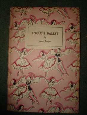 Leeper, Janet. 'English Ballet', King Penguin Books, 1945, hardcover,  52 pages. Condition: good, but with slightly dusty-dirty exterior and mild tanning internally (browning effect from ageing). Contains 16 beautiful colour plates containing scenes and costumes from English Ballet. Price: £1.15, not including p&p (which is Amazon's standard charge, currently £2.75 for UK buyers, more for overseas customers)