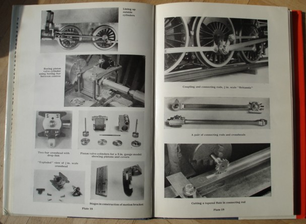 "Evans, Martin. ""Manual of Model Steam Locomotive Construction"", plates 18-19"