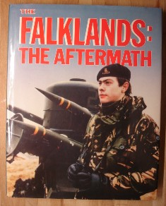 Way, Peter (Consultant Ed.) 'Falklands: The Aftermath', hardcover 144 page book published by Marshall Cavendish, 144 pages, ISBN 086307202. Price £5.00 (not including post and packing (which is Amazon UK's standard charge of £2.80, more for overseas customers)