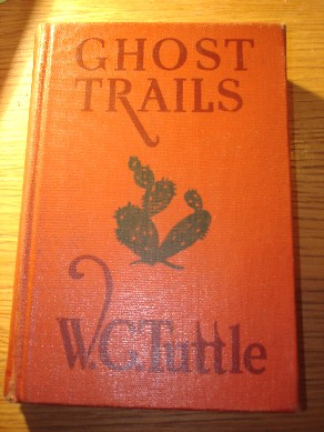 Book:Tuttle, W. C. 'Ghost Trails'. [Hardcover, Grosset & Dunlap, 1940]. Sorry, sold out, but click image to access prebuilt search for this title on Amazon