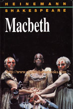 Shakespeare, William 'Macbeth', edited by Frank Green with additional notes and activities by Rick Lee and Victor Juszkiewicz; Series Editor John Seely; first published in 1994 in Great Britain in hardback, no dustjacket, 240pp, ISBN 0435192035. Condition: Very good, clean & tidy copy, well looked-after. Price: £3.87, not including p&p, which is Amazon's standard price (currently £2.75 for UK buyers, more for overseas customers)