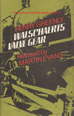 Greenly, Henry. 'Walschaert's Valve Gear' revised by Martin Evans, published as a revised edition in 1980 in Great Britain in paperback, with staple binding, 63pp, ISBN 0853441081. Condition: Very good, clean and tidy copy with a touch of fading to the cover and some very very slight tanning to internal pages (browning effect to the paper from ageing). A nice copy. Price: £20.00, not including post and packing, which is Amazon UK's standard charge (currently £2.80 for UK buyers, more for overseas customers)
