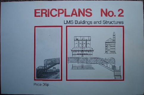 Ilett, Eric. 'LMS Buildings & Structures [Ericplans No. 2]', published by Peco Publications and Publicity Ltd, pbk, 12pp, ISBN 0900586346. Sorry, sold out, but click image to access prebuilt search for this item on Amazon