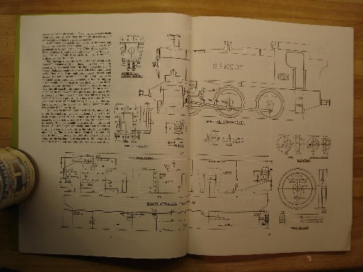 LBSC. 'Speedy. G.W. 0-6-0 Tank Engine, 5 in Gauge', pages 8-9