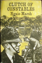 Marsh, Ngaio. 'Clutch of Constables', published in 1968 by The Companion Book Club in Great Britain, 253pp, No ISBN, with dustjacket. Condition: very good, clean & tidy copy. Price: £1.85, not including p&p, which is Amazon's standard charge (currently £2.75 for UK buyers, more for overseas customers)