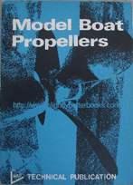No author. 'Model Boat Propellers', published in 1972 in Great Britain by Model & Allied Publications, pbk, 56pp. Condition: very good, nice, clean copy. Price: £5.85, not including p&p, which is Amazon's standard charge (currently £2.75 for UK buyers, more for overseas customers)