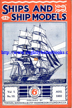 Click here to go to our page on the vintage and collectible Percival Marshall magazine called 'Ships and Ship Models' - a magazine for all lovers of ships and the sea