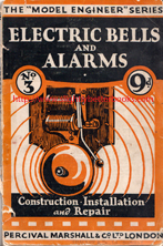 Powell, F. E. Electric Bells and Alarms: Construction, Installation and Repair, an undated paperback publication from Percival Marshall. Condition: fair and acceptable - the spine is weak and held together at the spine by sellotape; the cover is a touch dusty-dirty and has detached from the book;  a previous owner's name is written across the opening edge of the book. Overall a decent, but heavily worn copy. Price: £4.15, not including post and packing, which is Amazon UK's standard charge of £2.80 for UK buyers (more for overseas customers)