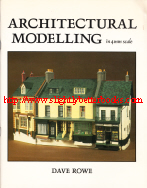 Rowe, Dave. 'Architectural Modelling in 4mm Scale', published by Wild Swan Publications in 1983, paperback, 72pp, ISBN 0906867126. Very good condition copy, very clean & well looked-after with a touch of creasing to the cover corners (at the bottom). Price: £28.00, not including p&p, which is Amazon's standard charge (currently £2.80 for UK buyers, more for overseas customers)
