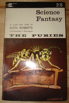 Bonfiglioli, Kyril; and Parkhill-Rathbone, J. 'Science Fantasy, Volume 24: Issue 74, July 1965', published by Compact, 128pp, paperback. Condition: Nice, clean, readable, but vintage condition copy. Well looked-after for its age. Price: �4.00, not including p&p, which is Amazon's standard charge (currently �2.75 for UK buyers, more for overseas customers)