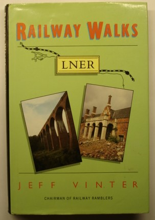 Vinter, Jeff. 'Railway Walks:LNER', published by Alan Sutton Publishing in 1990, hbk, 170pp, ISBN 0862997321. Sorry, sold out, but click image to access prebuilt search for this title on Amazon UK