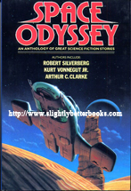 No author. 'Space Odyssey: an anthology of great science fiction stories', published by Octopus Books Limited in 1983 in hardcover, 354pp, ISBN 0706419634. Sorry, out of stock, but click image to access prebuilt search for this title on Amazon UK