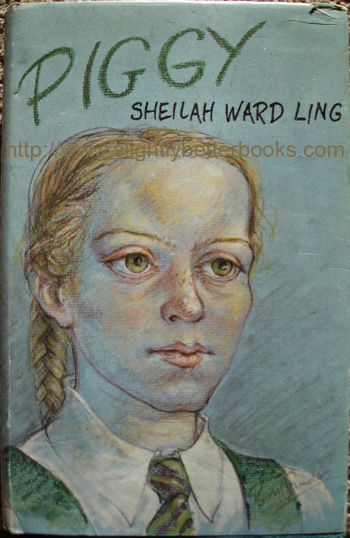 Ling, Sheilah Ward, 'Piggy', published in 1980 in Great Britain by Dennis Dobson in hardback with dustjacket, 216pp, ISBN 0234721847. Condition: very good with some slight handling wear to dustjacket (which is price-clipped). Price: £6.15, not including p&p, which is Amazon's standard charge (currently £2.75 for UK buyers, more for overseas customers)